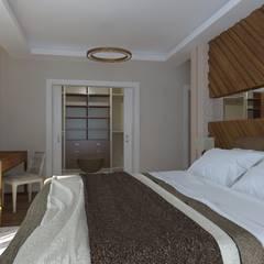 Asya Yapı İçmimarlık – Ankara Batıkent - müstakil konut:  tarz Yatak Odası