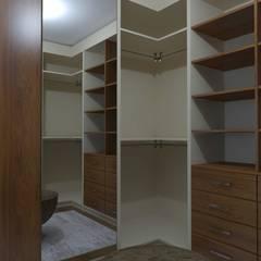 Asya Yapı İçmimarlık – Ankara Batıkent - müstakil konut:  tarz Giyinme Odası,