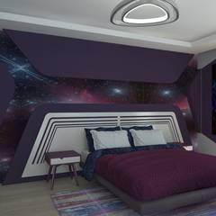 Teen bedroom by Asya Yapı İçmimarlık