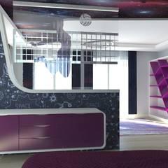 Teen bedroom by Asya Yapı İçmimarlık,