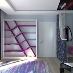 Teen bedroom by Asya Yapı İçmimarlık