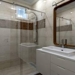 Asya Yapı İçmimarlık – Ankara Batıkent - müstakil konut:  tarz Banyo