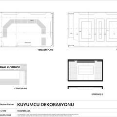 Sanal Mimarlık Hizmetleri – KUYUMCU DEKORASYONU:  tarz Çalışma Odası