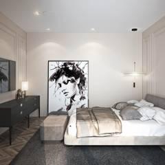 Ар-деко: Роскошь и уют: Спальни в . Автор – Fusion Dots, Эклектичный