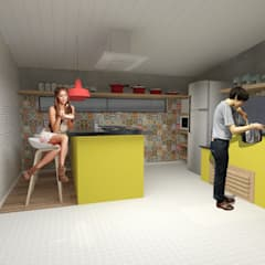 Small kitchens by Arktekto - Fernando Villwock