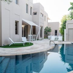 Al Barari Villa:  Garden by We Style Middle East,