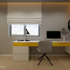 Pokój nastolatka - dom Moskorzew: styl , w kategorii Pokój dziecięcy zaprojektowany przez Polilinia Design
