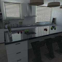 Diseño de cocina - Interiorismo : Cocinas equipadas de estilo  por Central Grup