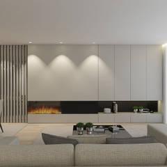 Living room by 411 - Design e Arquitectura de Interiores, Modern