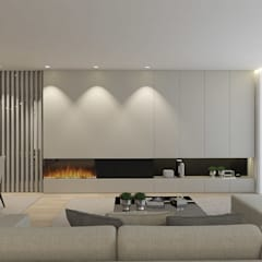 VP House: Salas de estar  por 411 - Design e Arquitectura de Interiores,Moderno