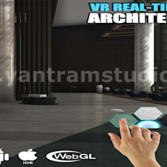 VR Real Time Application and 360 panoramic of virtual reality developer by Architectural Visualization studio, California – USA:  Floors by Yantram Architectural Design Studio