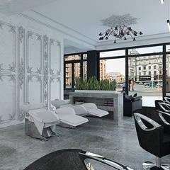 Салон красоты Lusso: Коммерческие помещения в . Автор – A Studiya by Elena Agafonova