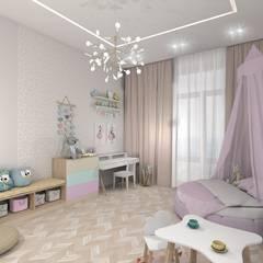 Dormitorios infantiles de estilo  por ARTWAY центр профессиональных дизайнеров и строителей,