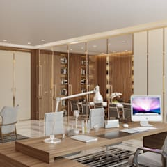 DMC Office:  Commercial Spaces by Flamingo Studio, Modern Wood Wood effect