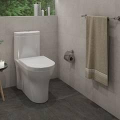 Baños pequeños: Baños de estilo  por Interceramic MX, Moderno Cerámico
