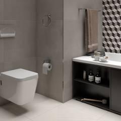 Phòng tắm theo Interceramic MX, Hiện đại gốm sứ