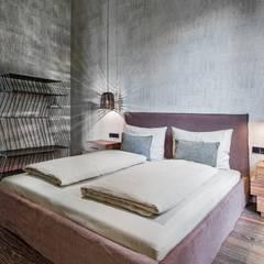 Diseño y Dotación : Habitaciones de estilo  por De Stefano Disegno, Ecléctico