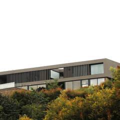 CASA C4: Casas unifamiliares de estilo  por BASSICO ARQUITECTOS