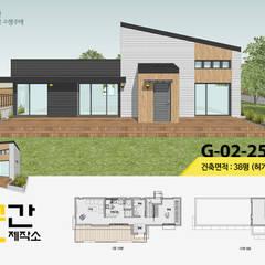 공간제작소 두번째 설계사례: 공간제작소(주)의  목조 주택