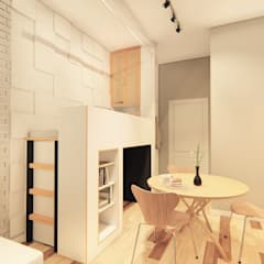 Hazni's SOHO by LI A'ALAF ARCHITECT Minimalist