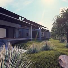 Izat's Bungalow:  Houses by LI A'ALAF ARCHITECT