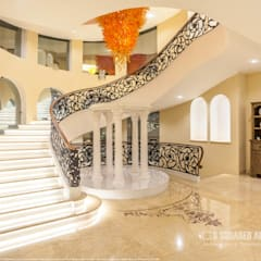 by S Squared Architects Pvt Ltd. Colonial آئرن / اسٹیل