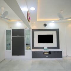Dining room by Chaitali Shah ,