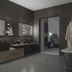 Specchi con tecnologia iLight Spogliatoio moderno di Unica by Cantoni Moderno