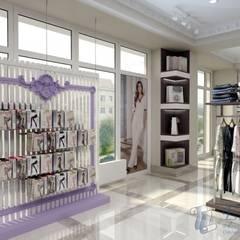 Дизайн магазина домашней  одежды: Офисы и магазины в . Автор – Цунёв_Дизайн. Студия интерьерных решений., Классический