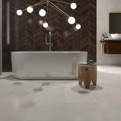 Rustic style bathrooms by Interceramic MX Rustic Ceramic