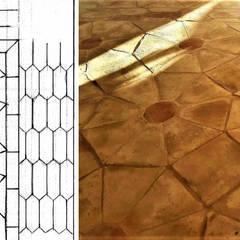 Suelos de estilo  por Cotto fatto a mano F.lli Stefani, Mediterráneo Ladrillos