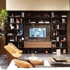 ห้องนั่งเล่น โดย Formarredo Due design 1967, โมเดิร์น
