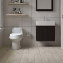 Classic style bathroom by Interceramic MX Classic Ceramic