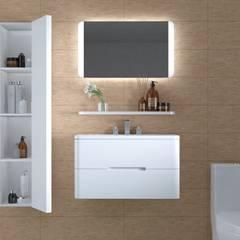 Bathroom by Interceramic MX, Eclectic Ceramic