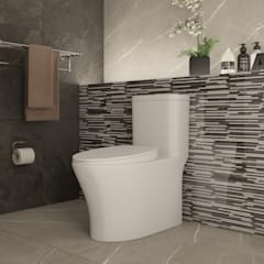Eclectic style bathroom by Interceramic MX Eclectic Ceramic