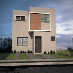 Small houses by GUEVI, Modern