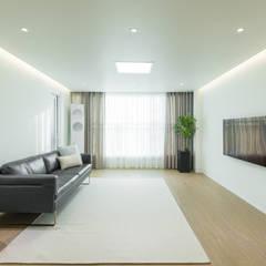새터마을 모아미래도 25평 아파트 인테리어: 모아디랩의  거실,모던