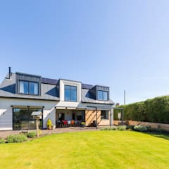 Eco-Tech Home in York:  Detached home by Townscape Architects, Modern