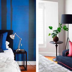Parkhurst, JHB:  Small bedroom by Metaphor Design, Modern Wood Wood effect
