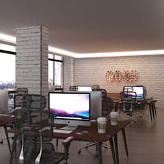Office buildings by ODBS DESIGN STUDIO