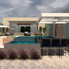 無邊際泳池 by Kaia Navarro Arquitetura e Interiores