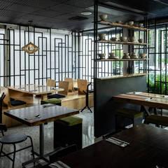 Projekty,  Gastronomia zaprojektowane przez FLUXUS ESTUDIO,