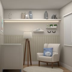 Baby room by Studio MP Interiores , Classic MDF