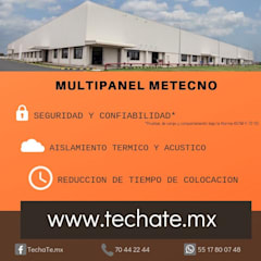 Flat roof by TechaTe,