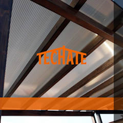 Flat roof by TechaTe, Modern