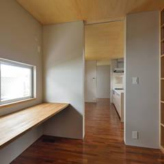 登野城の家 モダンデザインの 書斎 の プラソ建築設計事務所 モダン
