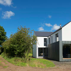 Passive House, Co. Antrim, NI:  Passive house by Marshall McCann Architects
