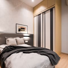 Project Icon Residenz:  Bedroom by The Chemistry Design Studio