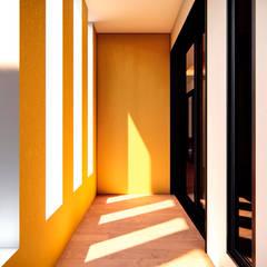 Corridor & hallway by Ancla Imports S.A. de C.V., Colonial