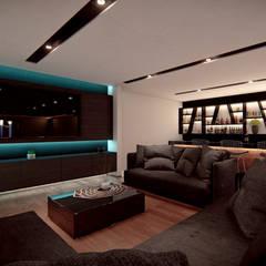 Ruang Multimedia oleh Ancla Imports S.A. de C.V., Modern